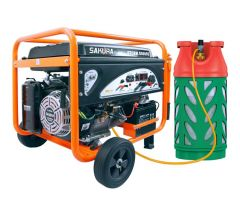 7.5KW LPG Generator STORM D8000E-DF